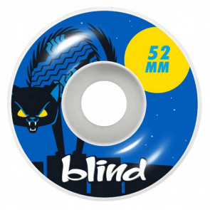 BLIND RUOTE SKATE NINE LIVES BLUE 52MM 99A