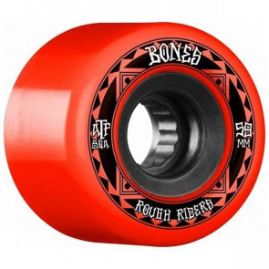 RUOTE BONES ROUGH RIDER RUNNERS ATF 59 80A RED