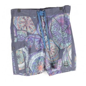 INSIGHT BOARDSHORT UOMO BROKEN MELODY BLACK OUT BLUE