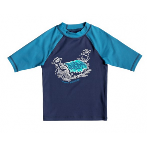 QUIKSILVER LICRA BAMBINO BUBBLE DREAMS MEDIEVAL BLUE