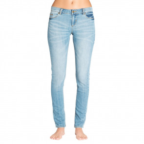 ELEMENT JEANS PANTALONI DONNA STICKER VINTAGE BLUE