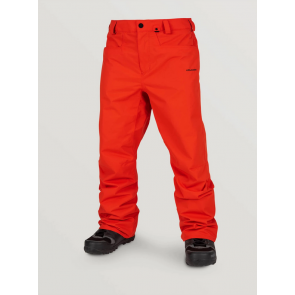 VOLCOM PANTALONE SNOWBOARD UOMO CARBON INSULATED PANT ORANGE