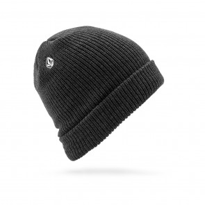 VOLCOM BERRETTO BEANIE UOMO FULL STONE BEANIE CHARCOAL HEATHER