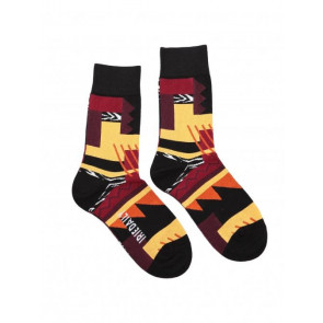 IRIEDAILY CALZE UOMO CRAZY FRESH SOCK BURNED