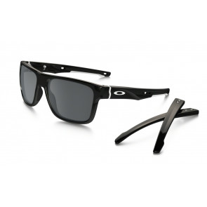 OAKLEY OCCHIALI CROSSRANGE POLISHED BLACK BLACK IRIDIUM