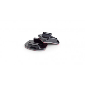GOPRO VIDEOCAMERA ACCESSORI DI FISSAGGIO CURVED + FLAT ADHESIVE MOUNTS