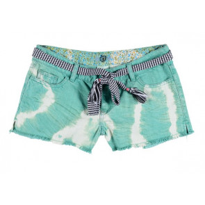 ELEMENT SHORT DONNA IDOL TIE&DYE AQUA