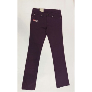 ELEMENT JEANS PANTALONI DONNA NETWORK TWO PURPLE
