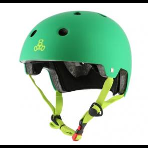 CASCO TRIPLE EIGHT GREEN MATTE XS/S