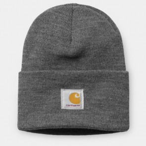 CARHARTT WIP BERRETTO BEANIE ACRYLIC WATCH HAT DARK GREY HEATHER