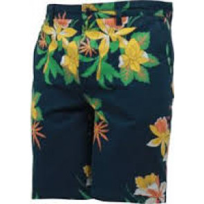 OBEY SHORTS UOMO WORKING MAN II HAWAIIAN NAVY