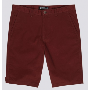 ELEMENT SHORTS UOMO HOWLAND CLASSIC VINTAGE RED