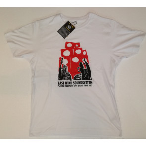 EAST WIND T-SHIRT UOMO CHARLIE WHITE