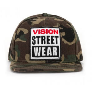 VISION STREET WEAR CAPPELLINO SNAPBACK CAMOU