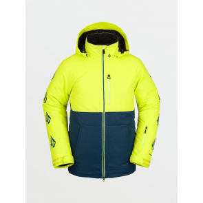VOLCOM GIACCA SNOWBOARD UOMO DEADLY STONES INSULATED JACKET LIME