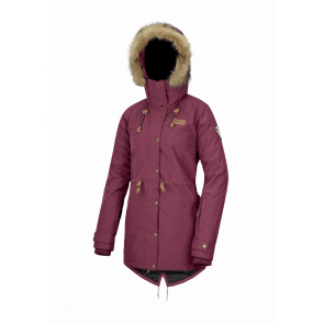 PICTURE GIACCA DONNA KATNISS JKT BURGUNDY