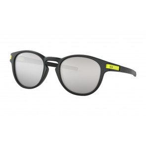 OAKLEY OCCHIALI LATCH MATTE BLACK CROME IRIDIUM VALENTINO ROSSI COLLECTION