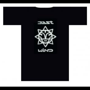 EAST WIND T-SHIRT UOMO LOGO BLACK