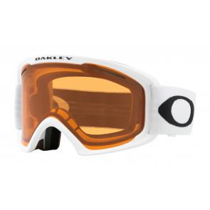 OAKLEY MASCHERA SNOWBOARD O-FRAME 2.0 PRO XL MATTE WHITE PERSIMMON LENS EXTRA DARK GREY