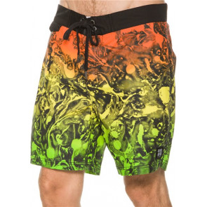 INSIGHT BOARDSHORT UOMO MARBLE BOARDY OIL SLICK RASTA
