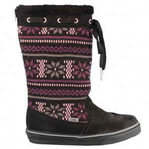 VANS SCARPE DONNA  MARLEY (KNIT) BLACK PURPLE