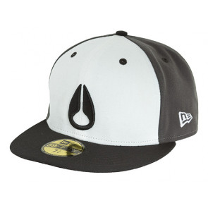 NIXON CAPPELLINO NEW ERA DEEP DOWN II BLACK WHITE GRAY