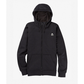 BURTON FELPA DONNA W OAK FULL ZIP TRUE BLACK HEATHER