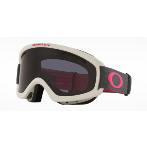 OAKLEY MASCHERA SNOWBOARD O-FRAME 2.0 PRO XS DARK GREY RUBINE / DARK GREY ( 2 LENS INCLUDED)
