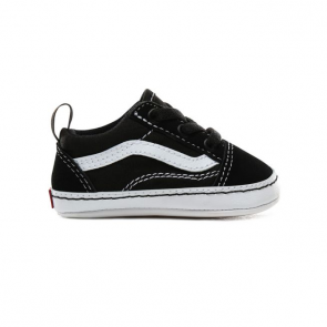 VANS SCARPE NEONATO OLD SKOOL CRIB BLACK/TRUE WHITE