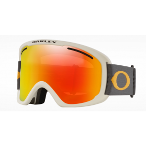 OAKLEY MASCHERA SNOWBOARD O-FRAME 2.0 PRO XL DARK GREY ORANGE / FIRE IRIDIUM ( 2 LENS INCLUDED) PERSIMMON