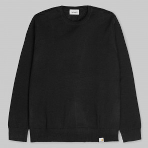 CARHARTT MAGLIONE UOMO PLAYOFF SWEATER BLACK