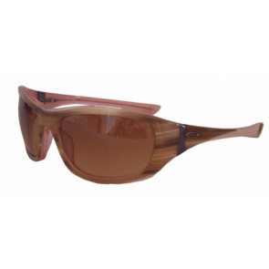 OAKLEY OCCHIALI DISOBEY STRIPED PLUM W/VR50 BROWN GRADIENT
