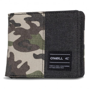 O'NEILL PORTAFOGLI UOMO POINT BREAK WALLET GREEN AOP 554232
