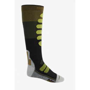 BURTON CALZE UOMO PERFORMANCE LIGHTWEIGHT COMPRESSION SOCK MARTINI OLIVE