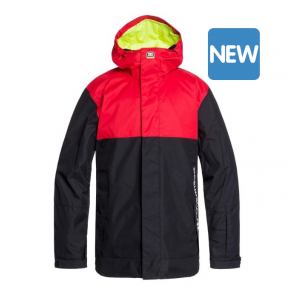 DC GIACCA SNOWBOARD UOMO DEFY RACING RED