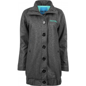 IRIEDAILY GIACCA DONNA RELAX JACKET CHARCOAL MEL