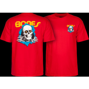 POWELL PERALTA T-SHIRT UOMO RIPPER RED