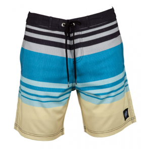 SANTA CRUZ BOARDSHORT UOMO SHORELINE BLUE STRIPE