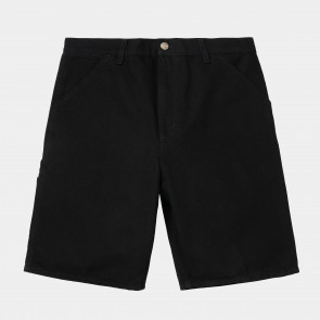CARHARTT WIP SHORTS UOMO SINGLE KNEE BLACK RINSED