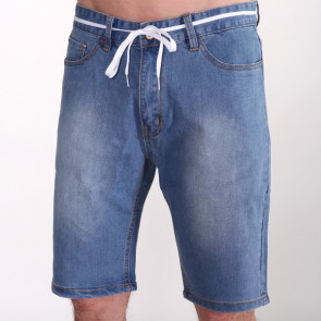 IRIEDAILY SHORTS UOMO SLIM SHOT2 DENIM ENZ