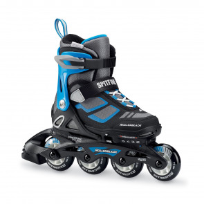 ROLLERBADE PATTINI IN-LINEA SPITFIRE NERO/BLU