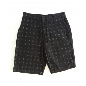 SPLIT SHORTS UOMO STRAIN BLACK