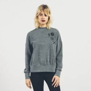 VOLCOM FELPA DONNA STAYIN HIGH FLEECE CHR