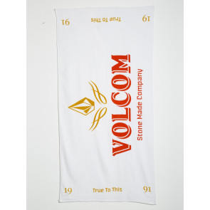 VOLCOM TELO MARE VOLCOM TOWEL WHITE