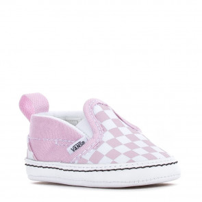VANS SCARPE NEONATO SLIP ON V CRIB (CHECKERBOARD) LILIA SNOW TRUE WHITE