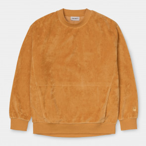 CARHARTT WIP FELPA DONNA W' SILVERTON SWEAT WINTER SUN