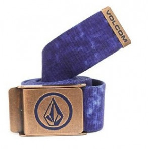 VOLCOM CINTURA UOMO WEB 2.0 BELT DENIM