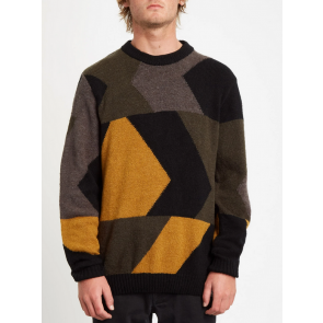 VOLCOM MAGLIONE UOMO WILLIEKEARL GOLDEN BROWN
